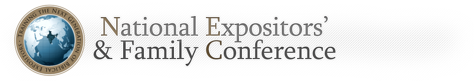 National Expositor's Conference